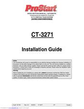 prostart ct 3300 installation manual