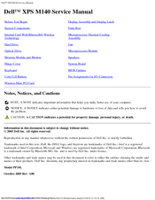 dell xps m140 manuals rh manualslib com Dell XPS M170 Sound Driver Dell XPS M170 Battery