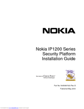 Nokia IP1200 Series Installation Manual