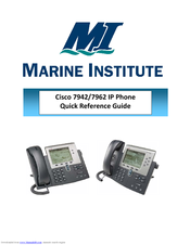 Cisco Ip Phone 7942 Manual