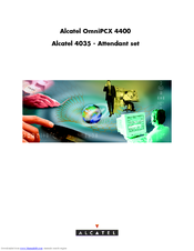 Alcatel Omnipcx 4400 Инструкция - фото 6