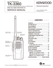 kenwood tk 3360 manuals rh manualslib com kenwood tk 3301 service manual kenwood tk 3301 manual