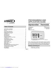 lennox signatures tat 81m27 manuals