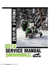 free arctic cat snowmobile service manuals