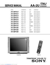 Sony Kv 38fs16 Manuals Manualslib
