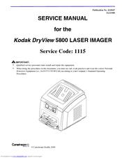 kodak dryview 5800 manuals rh manualslib com