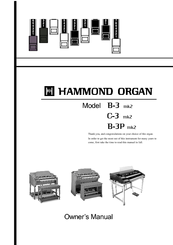 HAMMOND B-3 OWNER'S MANUAL Pdf Download