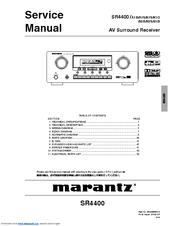 marantz sr4300 manual