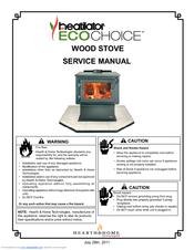 Heatilator ECO CHOICE WOOD STOVE Manuals