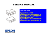 Epson Stylus Photo Printer PX800FW Service Manual