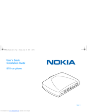 Nokia 810 User Manual