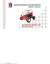 Dazon raider classic 150 manuals sciox Images