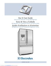 electrolux french door bottom freezer refrigerator manuals rh manualslib com french door manufacturers usa french door manufacturers central pa