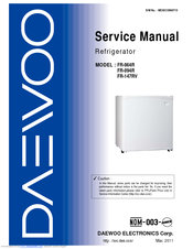 Daewoo FR-147RV Manuals