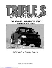 triple s customs car security installation manual pdf download Honda Car Wiring Diagrams at Triple S Customs Wiring Diagrams Honda