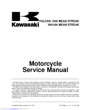 kawasaki vn1500 mean streak manuals. Black Bedroom Furniture Sets. Home Design Ideas