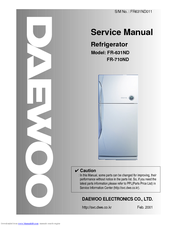 daewoo fr 631nd manuals rh manualslib com Daewoo Refrigerator Review Daewoo Mini Fridge