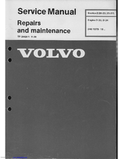 volvo d24 manuals rh manualslib com volvo penta d7 workshop manual volvo d7 engine manual