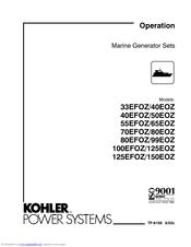 Kohler 65EOZ Manuals