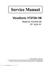 Viewsonic vt2430 service manual.
