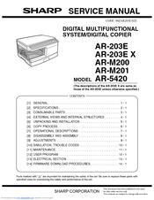 TONER per Sharp ar-203-e ar-5420