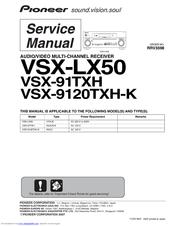pioneer vsx91txh elite av receiver manuals rh manualslib com Pioneer Elite Receiver VSX-92TXH Pioneer Elite Back Panel