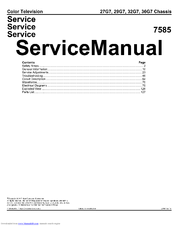 Philips 32G7 Service Manual