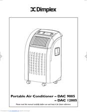 dimplex dac 12005 manuals rh manualslib com Air Conditioning Repair Manuals Soleus Portable Air Conditioner Manual
