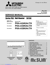 mitsubishi mr slim pka a24ka4 manuals rh manualslib com Mitsubishi Car Radio Wiring Diagram Mitsubishi Car Radio Wiring Diagram
