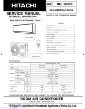 hitachi rac 35yh6 manuals hitachi room air conditioner user manual hitachi dc inverter air conditioner user manual
