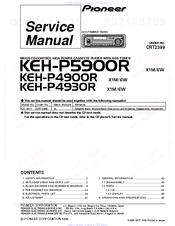 pioneer keh p900r service manual pdf download rh manualslib com