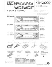 Kenwood KDC-MP5028 Service Manual