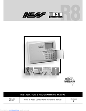 NESS R8 INSTALLER MANUAL Pdf Download. Ness Alarm Wiring Diagram on