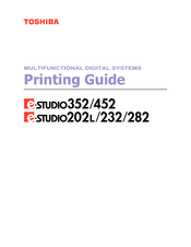Toshiba e-STUDIO 452 Printing Manual