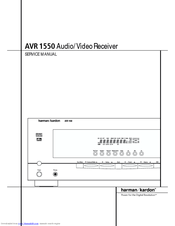 Harman Kardon AVR 1550 Manuals