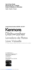 Kenmore Lave Vaisselle Use & Care Manual