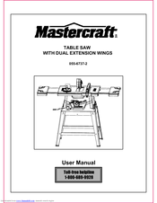 Mastercraft 055 6737 2 manuals mastercraft 055 6737 2 user manual 36 pages table saw keyboard keysfo Gallery