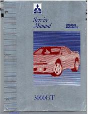 mitsubishi 3000gt service manual pdf download rh manualslib com 1994 Mitsubishi 3000GT VR4 Modified Mitsubishi 3000GT VR4 1993