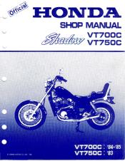 Honda 1984 Shadow Vt700c Manual Pdf Download Manualslib