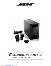 bose soundtouch stereo jc manuals rh manualslib com All Bose Stereo Equipment All Bose Stereo Equipment