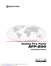 Notifier afp 200 manuals manuals and user guides for notifier afp 200 we have 2 notifier afp 200 manuals available for free pdf download installation manual manual asfbconference2016 Images