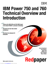 IBM Power 760 Technical Overview And Introduction