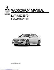Mitsubishi Electric Lancer Evolution-VII Workshop Manual