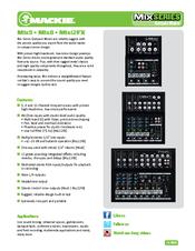 mackie mix8 manuals mackie mix8 manual