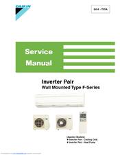 Daikin F Series Service Manual Pdf Download Manualslib