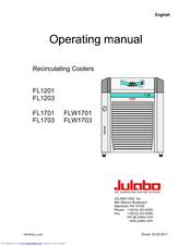 julabo fl1701 manuals rh manualslib com julabo f12 mb manual julabo f12-ec manual