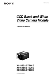 Sony XC-ST50 Technical Manual