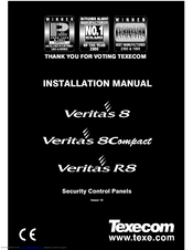 texecom veritas 8 installation manual pdf download rh manualslib com veritas excel alarm installation manual veritas 8c alarm installation manual