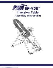 Teeter hang ups gl9500 inversion table.