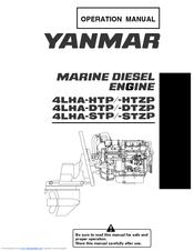 Yanmar marine diesel engine manual 4lha-htp/htzp 4lha-dtp/dtzp.